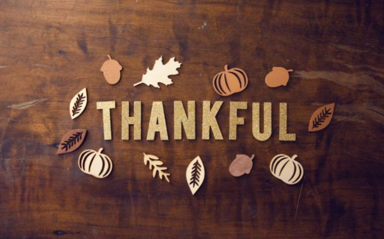 Give Thanks for God's Grace